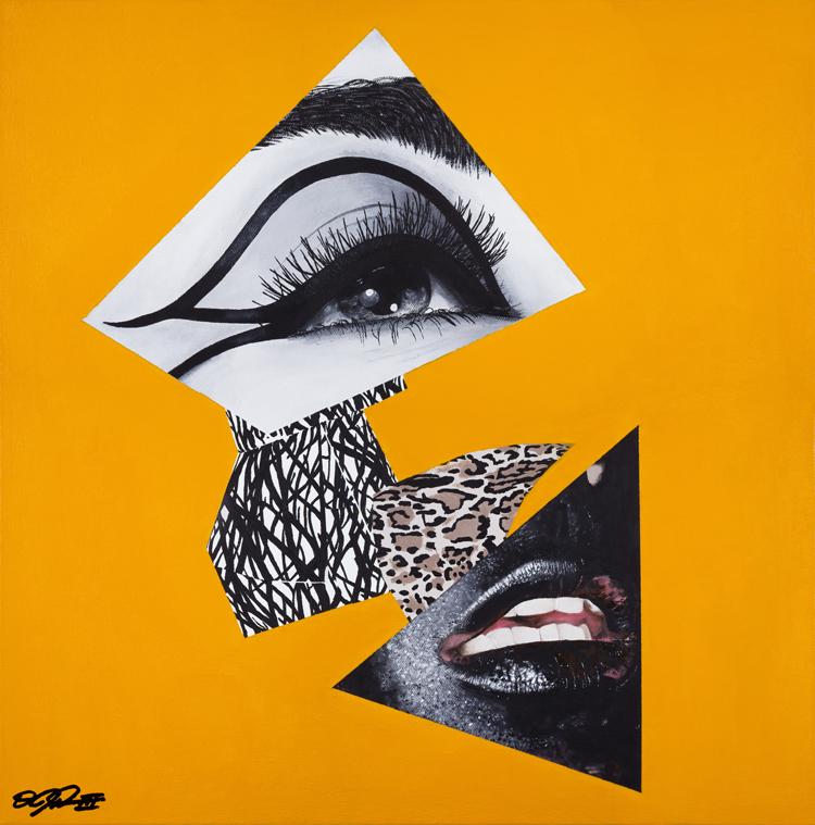Vakseen-She Got The Jazz 20x20_ (Acrylic) 2014